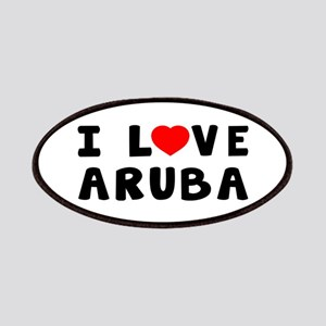 I Love Aruba Patches