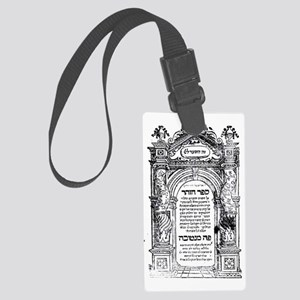 Zohar Frontpiece Large Luggage Tag