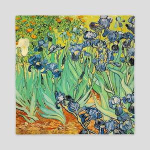 Irises Queen Duvet