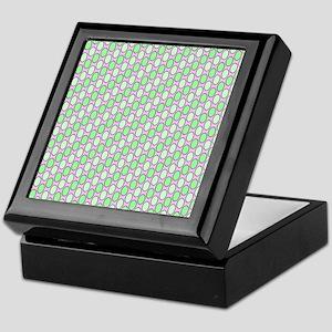 soft pattern green Keepsake Box