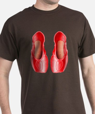 Red Pointe Shoes T-Shirt