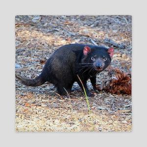 Hungry Tasmanian Devil Queen Duvet