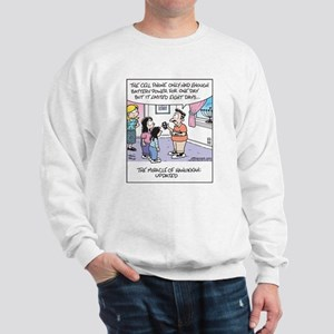 Hanukkah Cell Phone Miracle Sweatshirt