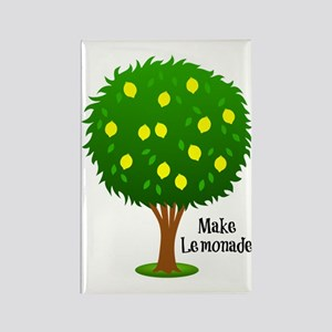 Make Lemonade - When Life Hands Y Rectangle Magnet