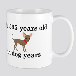 85 birthday dog years chihuahua 2 Mugs
