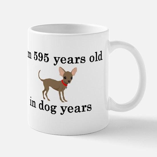 85 birthday dog years chihuahua 2 Mugs