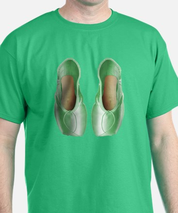 Soft Lime Pointe Shoes T-Shirt