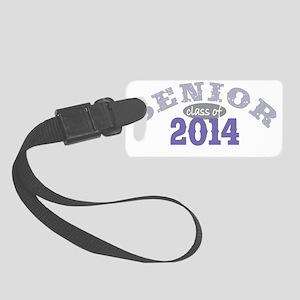 Senior 2014 Purple 2 Small Luggage Tag