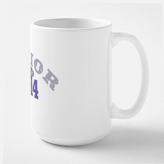 Senior 2014 Purple 2 Large Mug