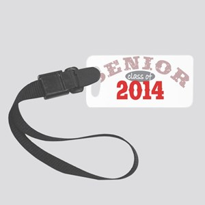 Senior 2014 Red 2 Small Luggage Tag