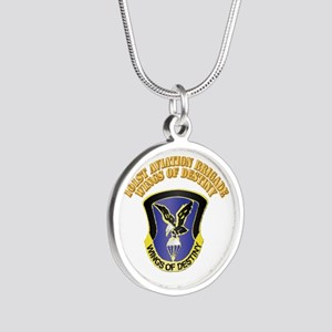 DUI - 101st Aviation Brigade with Text Silver Roun