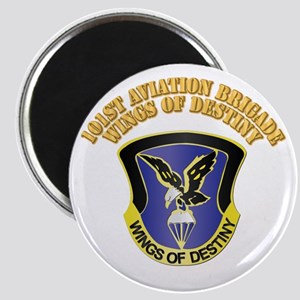 DUI - 101st Aviation Brigade with Text Magnet
