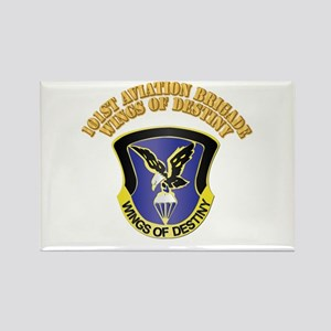 DUI - 101st Aviation Brigade with Text Rectangle M