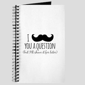 Mustache you a Question Journal