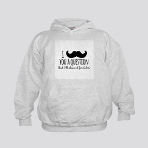 Mustache you a Question Hoody