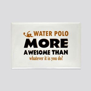 water loo is awesome designs Rectangle Magnet