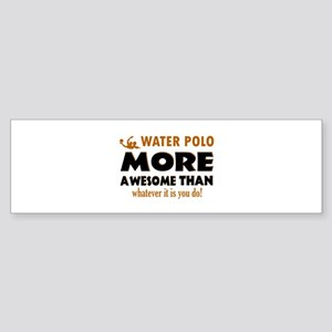 water loo is awesome designs Sticker (Bumper)