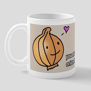 onion love mug