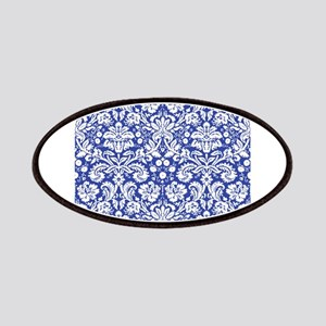Navy Blue Damask Patches