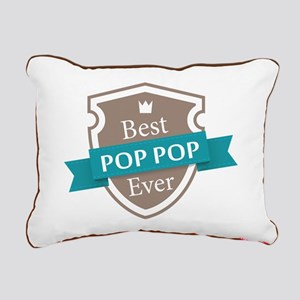 Best PopPop Ever Rectangular Canvas Pillow