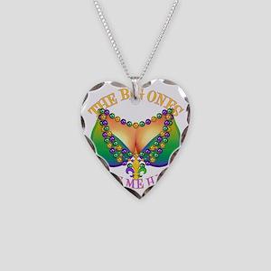 MGbeadsNboobsBigHtr Necklace Heart Charm