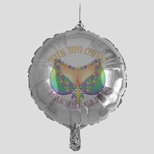 MGbeadsNboobsBigHtr Mylar Balloon