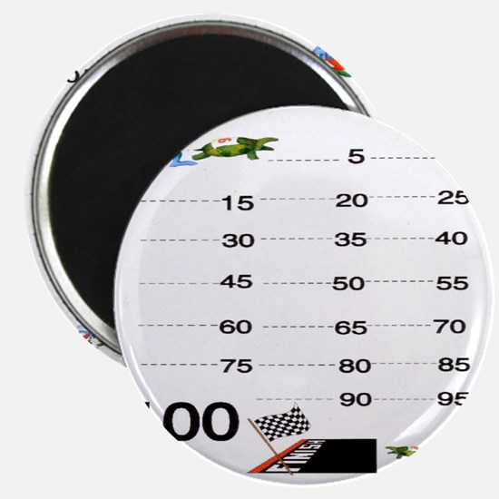 Count by 5 Race to 100 Magnet
