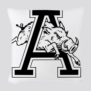 Razorback A Woven Throw Pillow