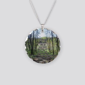 prov3sq Necklace Circle Charm