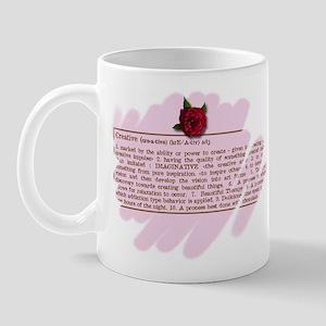 Creative Rose Mug