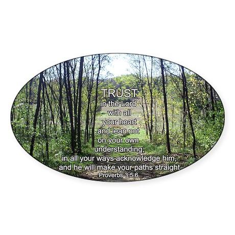 prov3Rec Sticker (Oval)