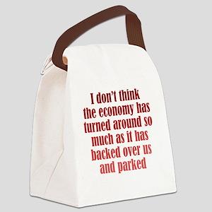 economy_rnd2 Canvas Lunch Bag