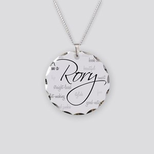 im a rory Necklace Circle Charm