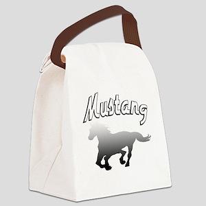 mustanghorsek Canvas Lunch Bag