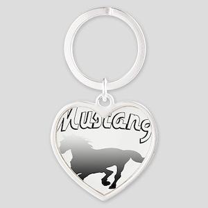 mustanghorsek Heart Keychain