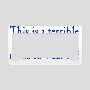 meds_btle1 License Plate Holder