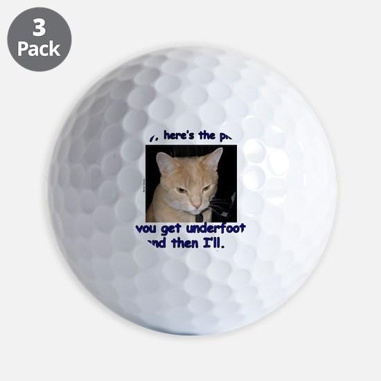 HeresThePlan Golf Ball