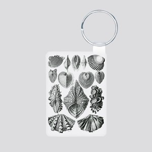 Shell Fossils Aluminum Photo Keychain