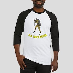 Navy Diver SCUBA Baseball Jersey