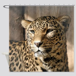 Leopard001 Shower Curtain