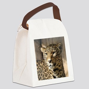 Leopard001 Canvas Lunch Bag