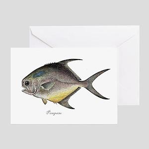 Pompano Greeting Card