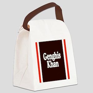 Genghis Khan Canvas Lunch Bag