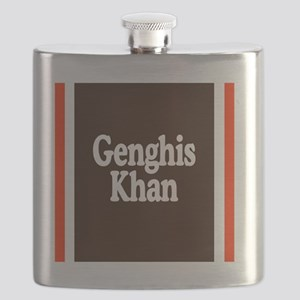 Genghis Khan Flask