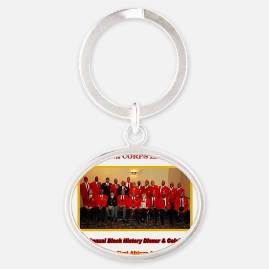 2011blackhistoryshirtLargelighter Oval Keychain