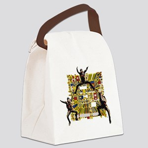 Freefly squares Canvas Lunch Bag