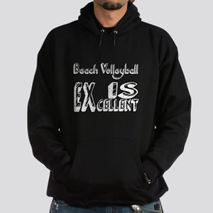 Beach Volleyball Is Excellent Hoodie (dark)