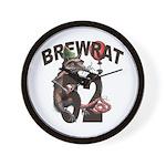 BrewRat B 52 Wall Clock