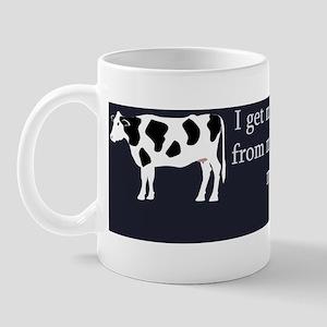 freeRangeBeef_bumpersticker Mug