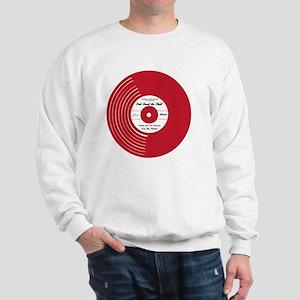 I Heart Vinyl Sweatshirt